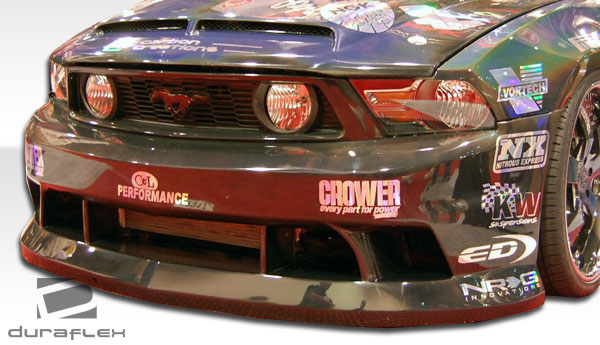 2010-2012 Ford Mustang Duraflex Hot Wheels Front Bumper Cover - 1 Piece