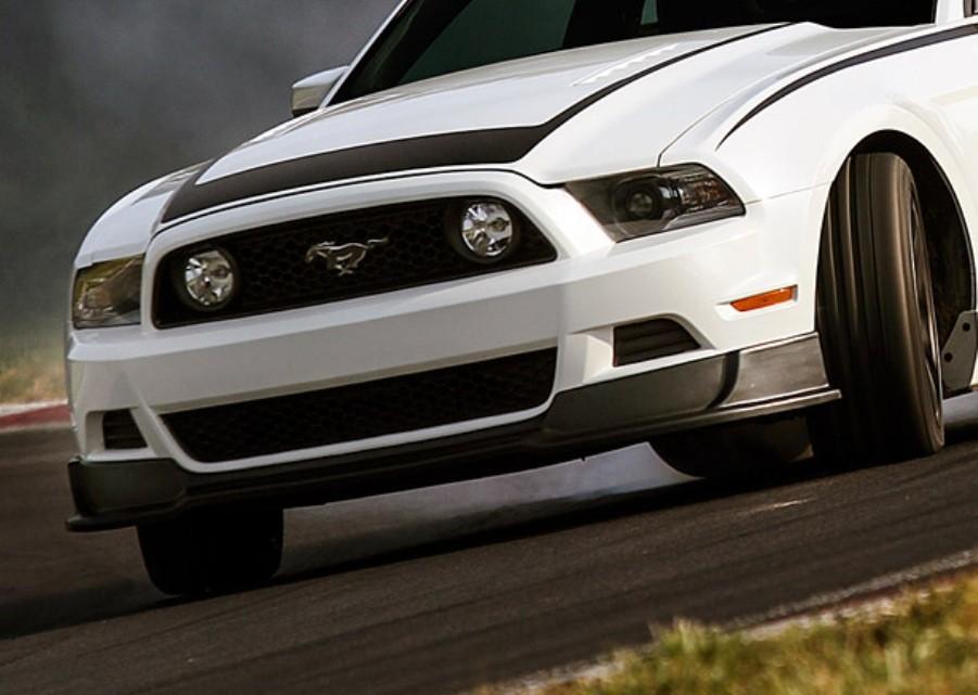 Spoiler 2013 Mustang 2013 Mustang Chin Spoiler