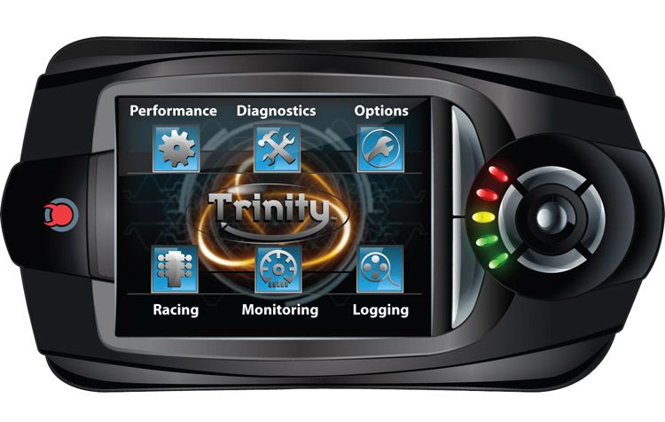 2005-2010 Diablosport Trinity Dashboard Monitor and Tuner - T-1000
