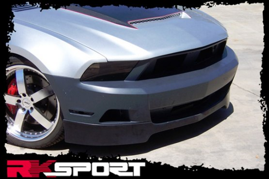 2010-2012 Mustang RK Sports Front Bumper Add on Lip (V6 Only)
