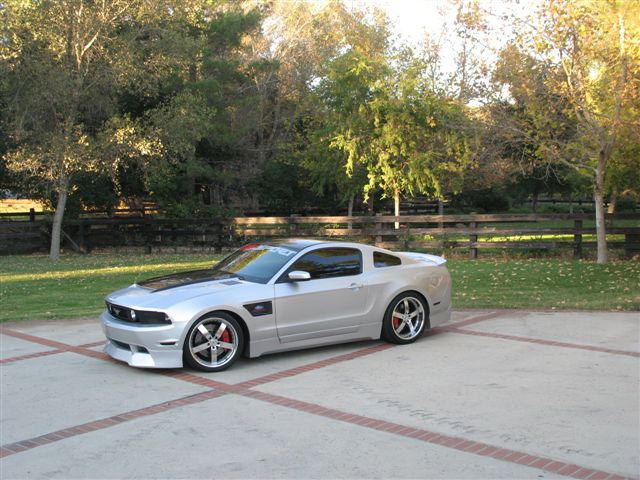 2010-2012 Mustang RK Sports Ground Effects Body Kit for GT (Front GT + Sides + Rear)