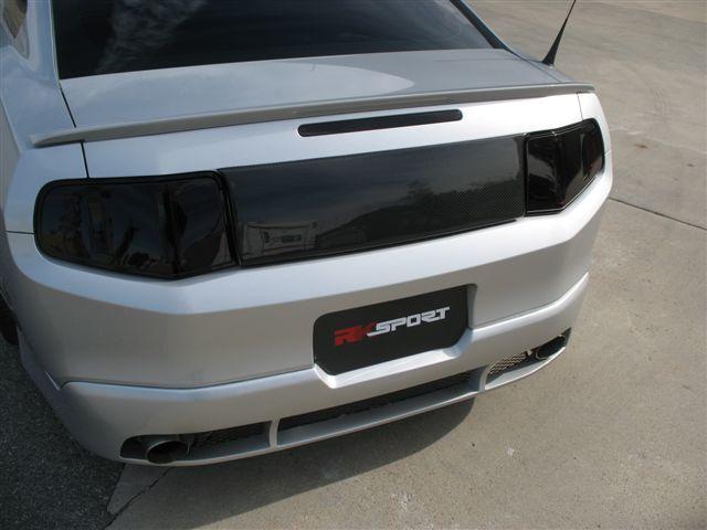 2010 2012 Mustang Rk Sports Rear Trunk Filler Carbon Fiber