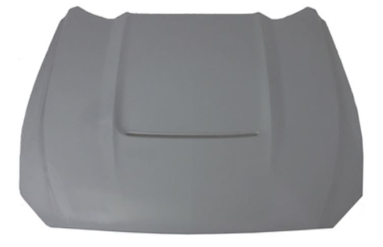 2015-2017 Mustang Heat Extractor Hood by RK Sports - Fiberglass (Fits all 2015 Models)