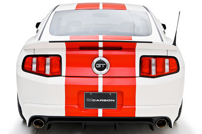 2010-2012 Mustang 3d Carbon Boy Racer - 5PC Kit Front + Rear + Sides & Spolier 3d500 (Paint Options)