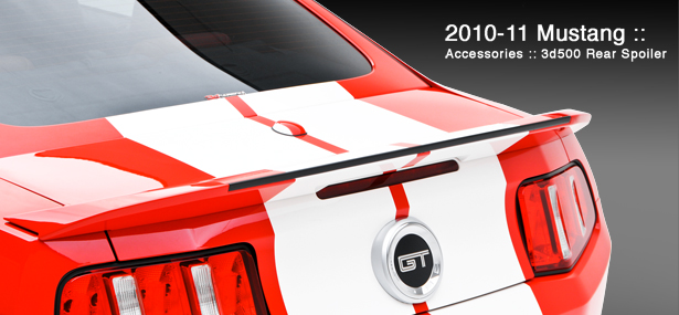 2010-2014 Accessory Package #2 - Includes 3d500 Rear Spoiler, Window Louvers, and Headlight Splitters