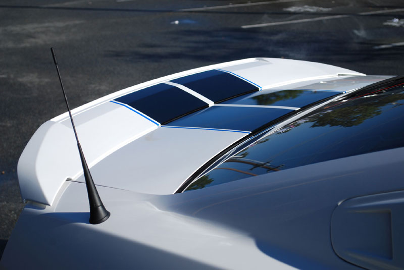2010-2014 Accessory Package #1 - Includes 3d500 Rear Spoiler, Hood Scoop, Window Louvers, Side Scoops