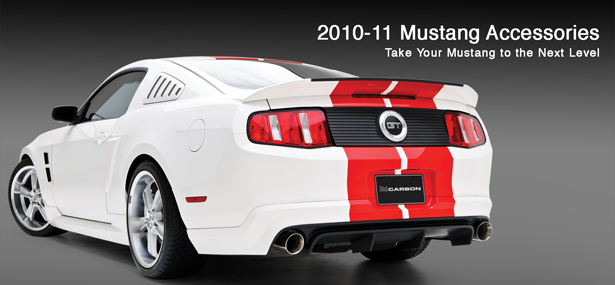 2010-14 Mustang 3D Carbon Upper Louvers (Paint Options)