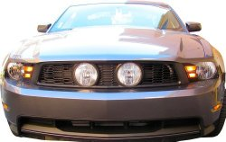 2010-12 Mustang GT Street Scene Center Fog Light Grille