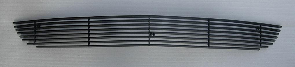 2010-2012 Mustang V6 Lower Billet Grille - BLACK