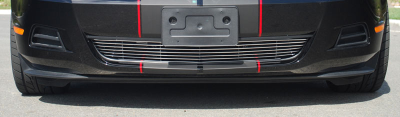 2010-2012 Mustang V6 Lower Billet Grille - CHROME