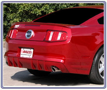 2010-2012 Mustang GT Razzi Rear Air Dam Kit