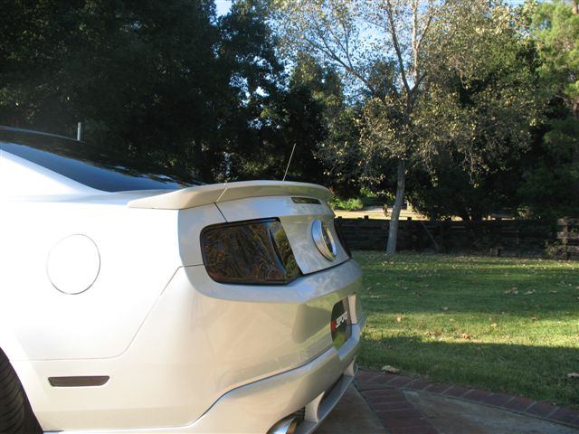 2010-2014 Mustang RK Sports Rear Wing 3PC Spoiler (GT & V6)