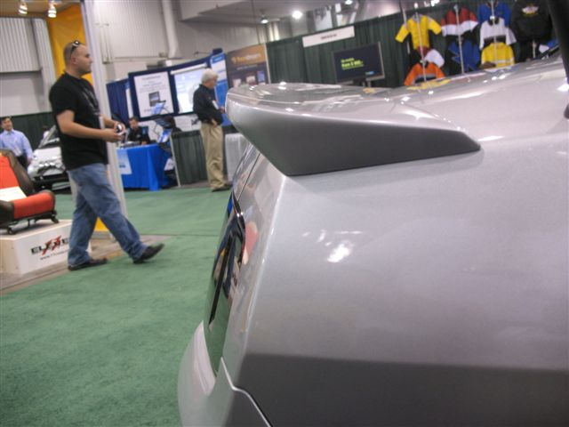 2010-2013 Mustang RK Sports Rear Wing 3PC Spoiler (GT & V6)