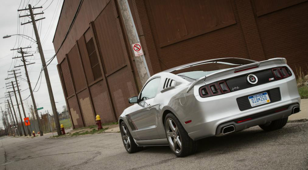 2013 Mustang GT Roush Axle-back Exhaust System w/ Dual-chamber Tips