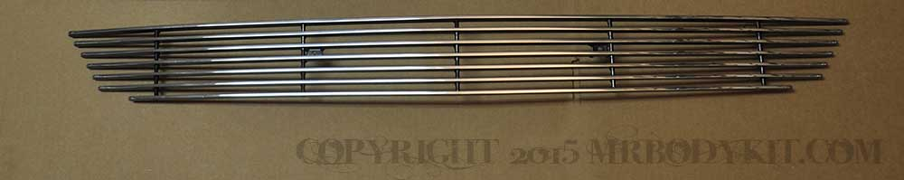 2015-2017 - 1PC Lower Billet Grille - POLISHED (GT, V6, ECO BOOST, 50th)