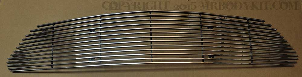 2015-2017 - 1PC Upper Billet Grille - POLISHED (GT, V6, ECO BOOST, 50th)
