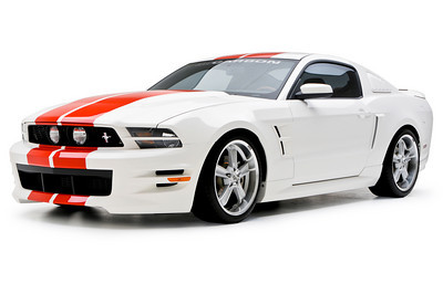 2010-2012 Mustang 3d Carbon Boy Racer - 4PC Kit Front + Rear + Sides V6 or GT (Paint Options)