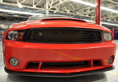 2010-2012 Mustang GT Roush Front Fascia w/Fog Lamps