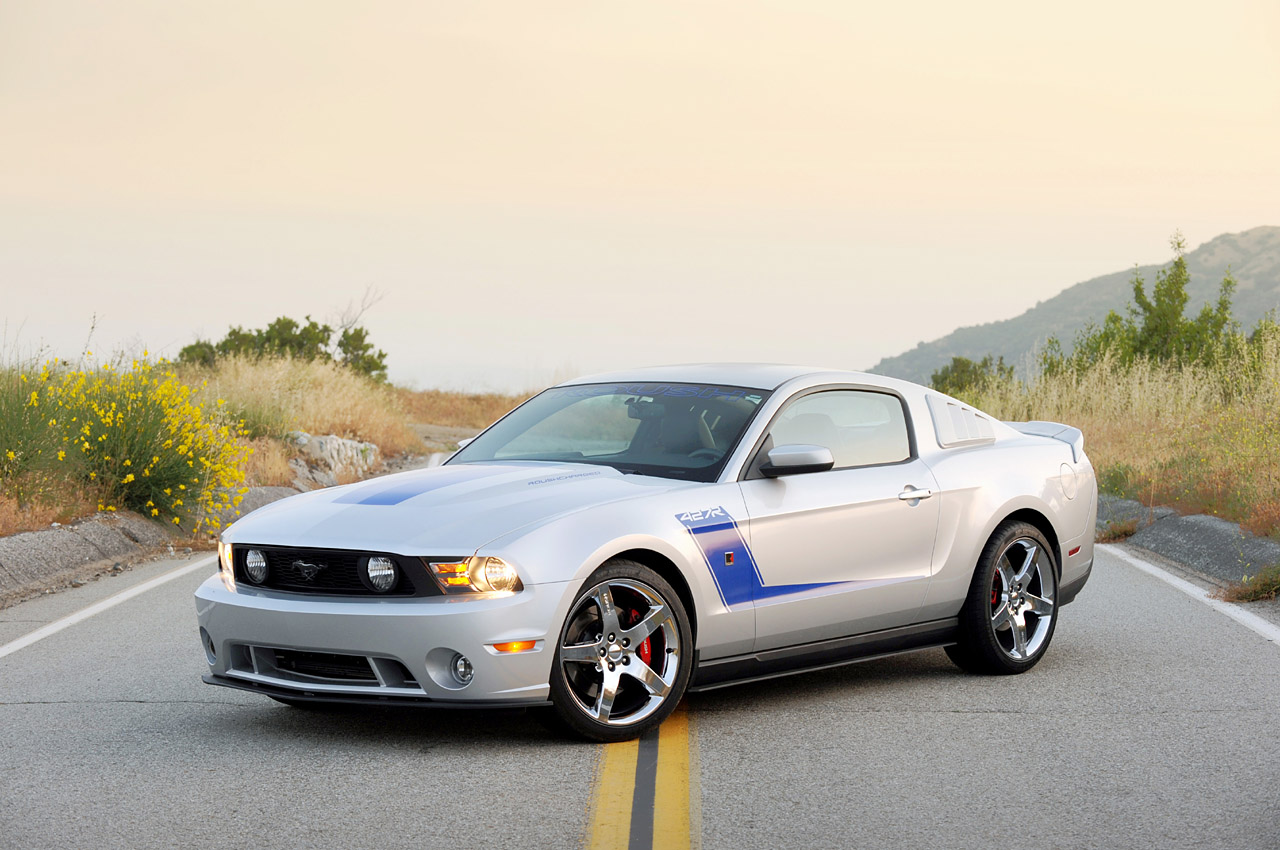 2010-2013 Mustang V6 & GT Roush Quarter Window Louvers