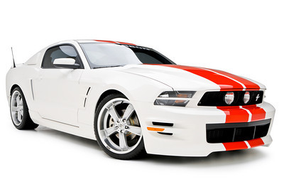 2005-2014 Mustang 3d Carbon Boy Racer - Side Skirts Pair V6 or GT (Paint Options)