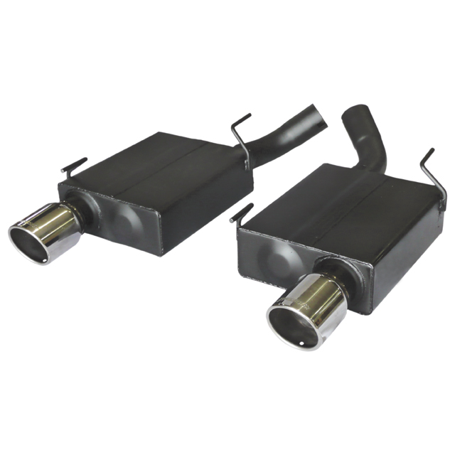 2005-2010 Mustang GT Flowmaster Axle Back Exhaust System - American Thunder - Aggressive Sound
