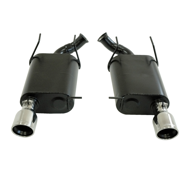 2011-2012 Mustang V6 Flowmaster Axle Back Exhaust System