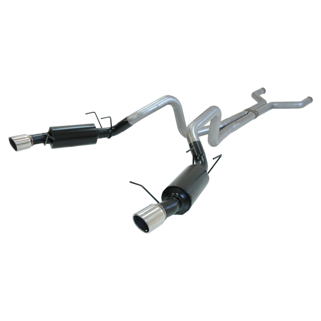 2011 Mustang GT Flowmaster Cat-Back Exhaust System - HushPower