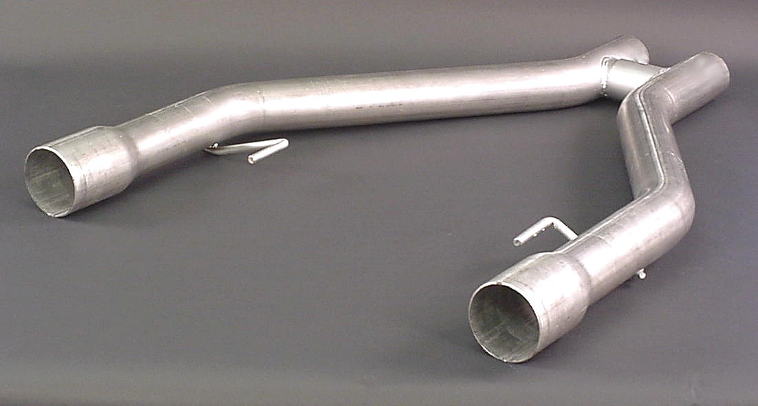 2005-2010 Mustang GT Pacesetter Off Road H Pipe - For Long Tube headers