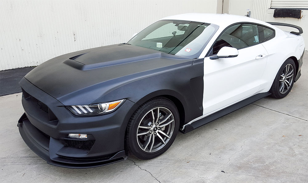 2015 17 Mustang Gt 350 Style Mustang Fiberglass Front Bumper With