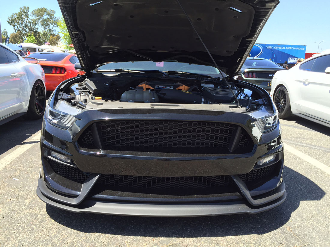 2015 17 Mustang Gt 350 Style Mustang Fiberglass Front