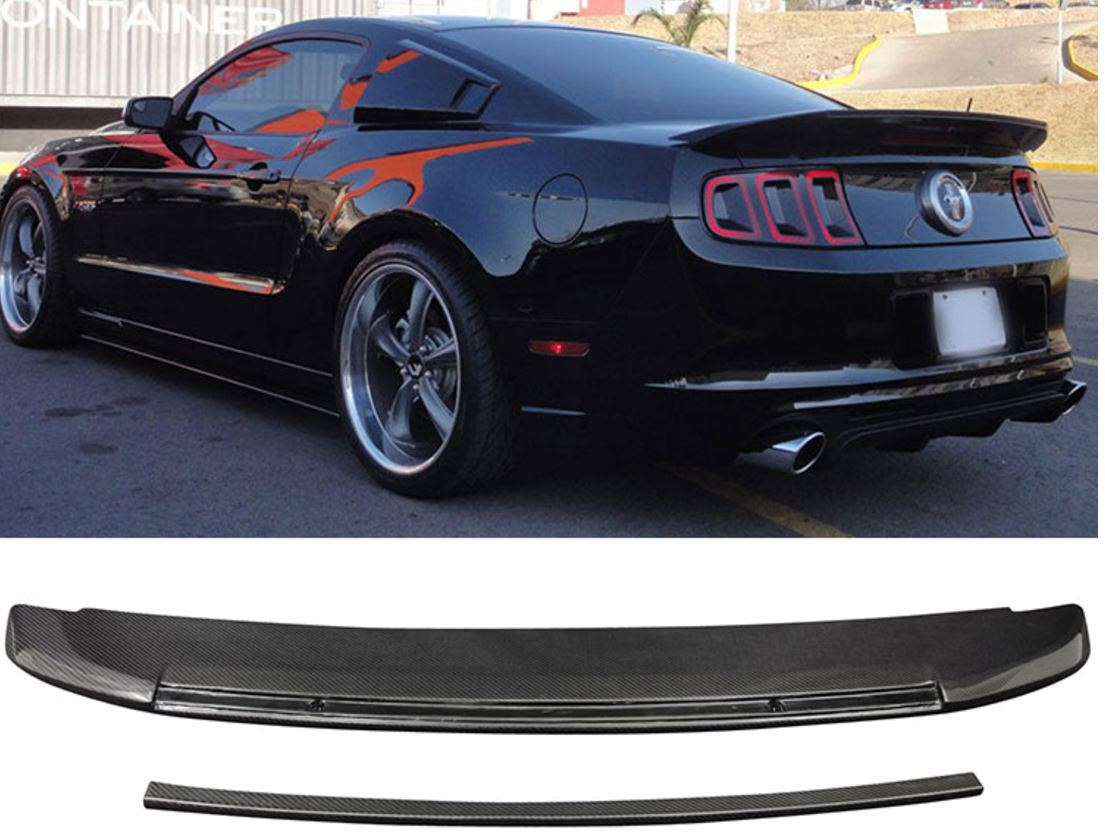 Ford Mustang Roush Parts >> 2010-2014 Mustang GT500 Type Rear Spoiler Wing (GT500) - CARBON FIBER