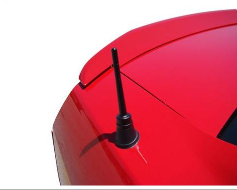 2010-2013 Mustang Black Billet Shorty Antenna