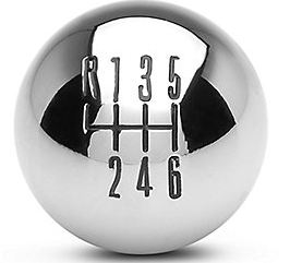 2011+ 6-Speed Shift Knob - Chrome