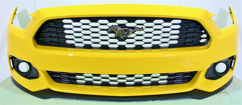 2015 Mustang EcoBoost Front Bumper Cover with Upper / Lower Grilles (Factory Colors PAINTED in your color)