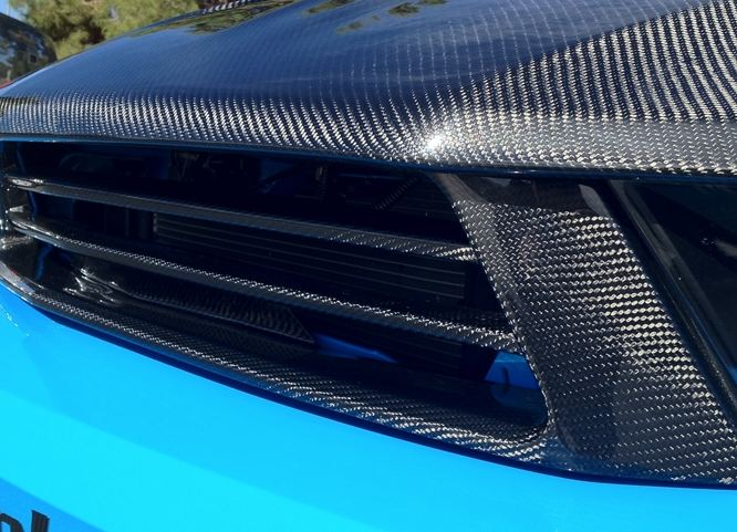 2010-12 Mustang GT - LG88 Main Grill & Surround Combined - CARBON FIBER