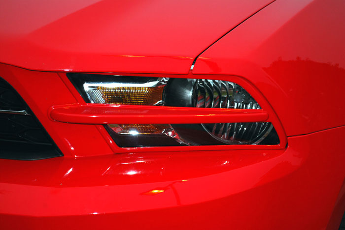 2010-2012 Mustang SALE GT & V6 Headlight Splitters (Paintable)