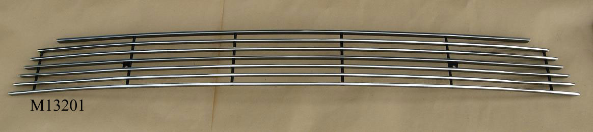 2013-14 Mustang GT & V6 - Lower Billet Grille - CHROME POLISH M13201