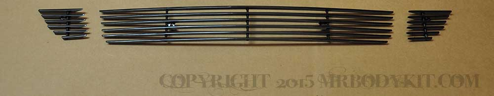 2015-2017 - 3PC Lower Billet Grille - BLACK (GT ONLY)