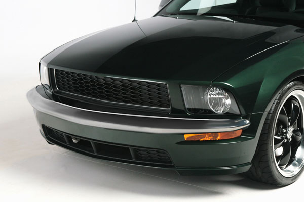 2005-2009 Mustang Retro USA Chrome Front Bumper + Rear Bumper Trim - V6 (Save $200)