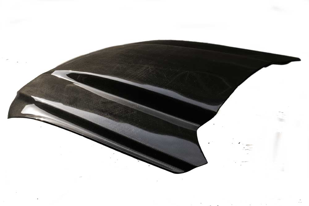2015-2017 Mustang 3 INCH COWL Hood by HCM (Fits all 2015 Models) CARBON FIBER