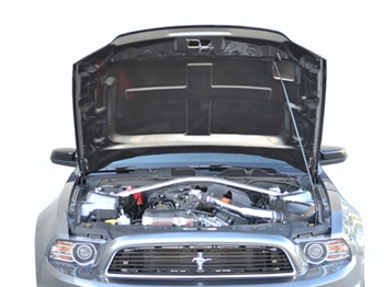 2010-2014 GT500 (NEW 2013-14 GT/V6) Mustang RK Sports Ram Air Hood (10-12 GT500 or 2013-14 GT/V6)