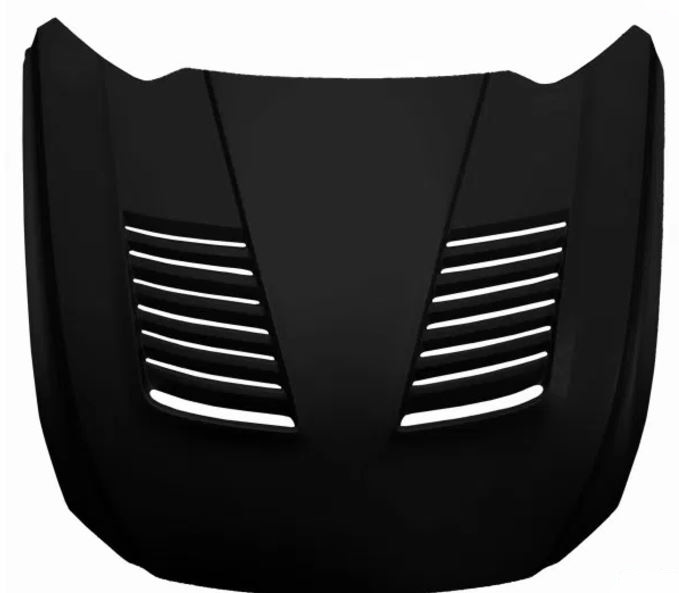 2015-2017 Mustang Sigala Heat Extractor Hood Fiberglass (Fits all 2015 Models)