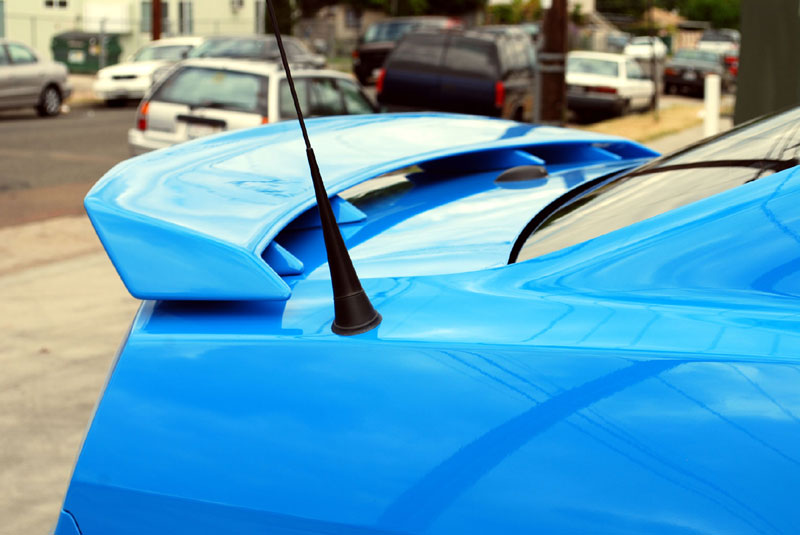 2010-2013 Mustang DG GTCS Style Pedestal Rear Spolier Wing (Paint Options)