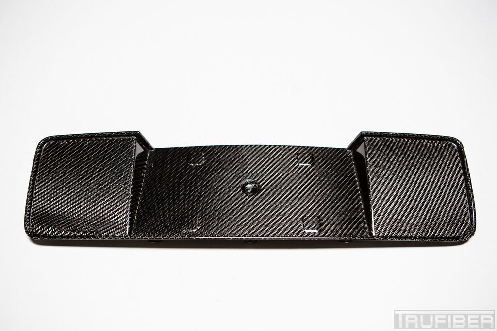 2013-2014 Mustang Carbon Fiber LG148 License Plate Panel (V6/GT/GT500)
