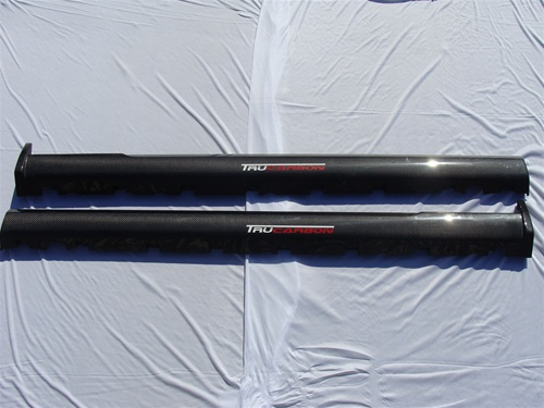 2010-2014 Mustang TF XR4 OEM STYLE Side Skirts - CARBON FIBER - Pair