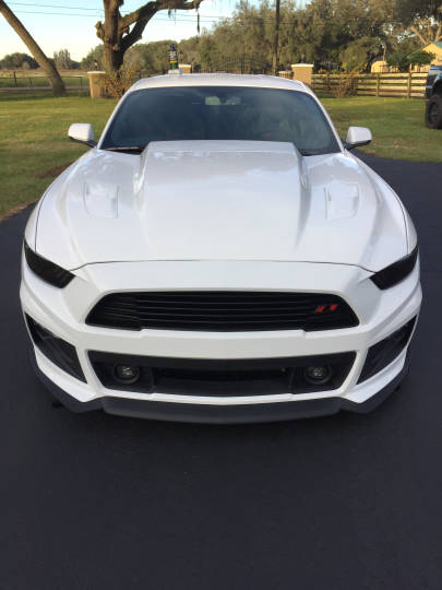 2015-2017 Mustang 3 INCH COWL A49-3 Hood by TruFiber (Fits all 2015 Models) FIBERGLASS