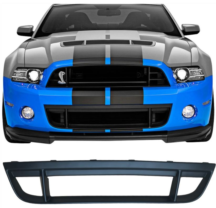 2013-14 Mustang GT500 Front Lower Grille - PP (Also fits 10-12 GT500)