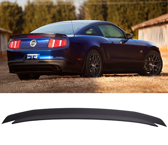2010-2014 Mustang Type RT Rear Spoiler Wing - ABS Plastic