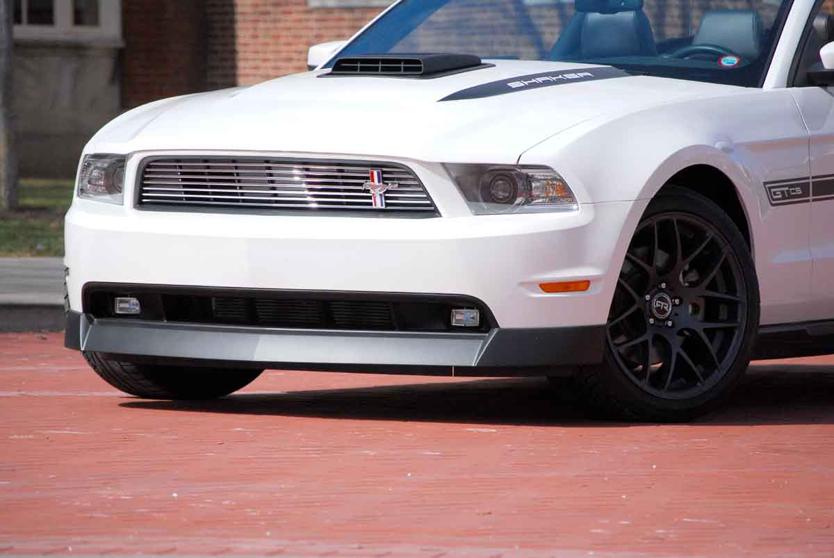 2010-2012 Mustang Fog Light Kit For Chin Spoiler by CDC