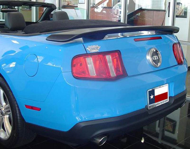 2010-2014 Mustang GT/V6 Custom Post Spoiler Wing Fiberglass (Paint Options)